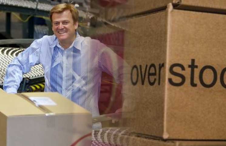 Overstock CEO Sells $20 Million Worth of Stock For Blockchain Project Reinvesting